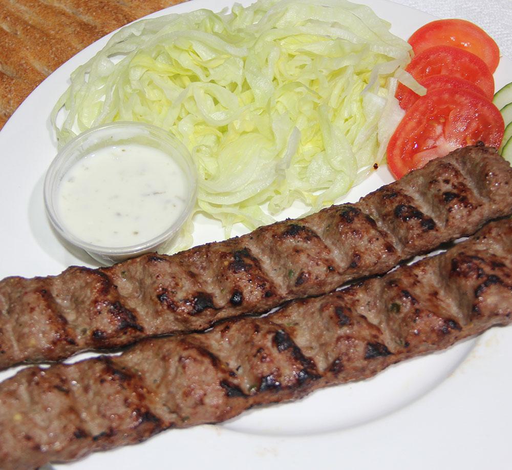 Shami Kabab with Naan